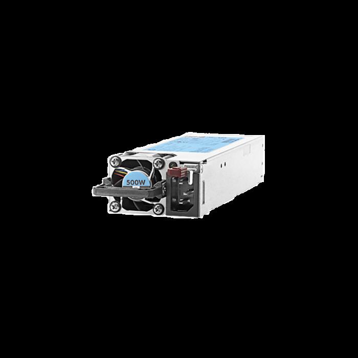 منبع تغذیه اچ پی مدل HP 500W Flex Slot Platinum Hot Plug
