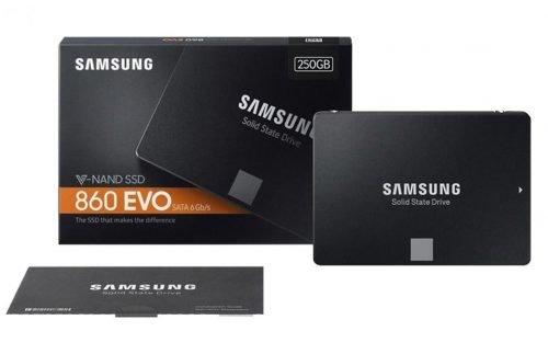 هارد اس اس دی سرور سامسونگ مدل 860EVO ظرفیت 250GB